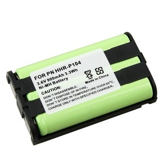 BasAcc Ni-MH Battery for Panasonic HHR-P104 (Pack of 5)