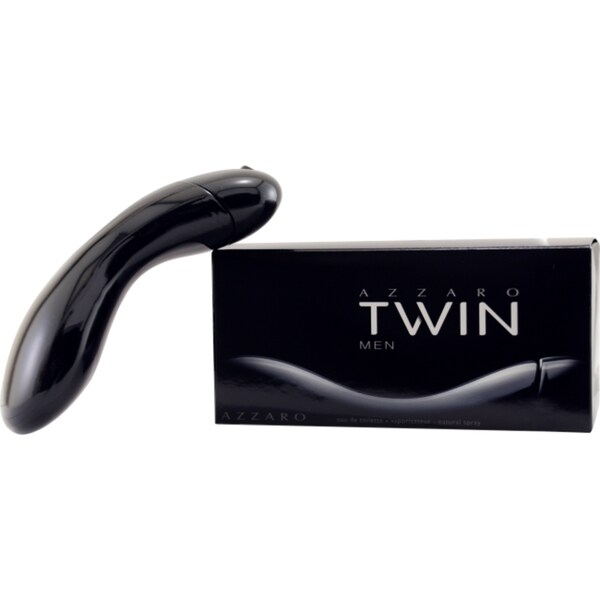 Azzaro Twin Men's 1.7-ounce Eau de Toilette Spray