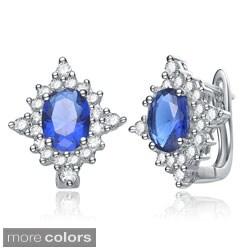 Collette Z Sterling-silver Cubic Zirconia Clip-in Earrings