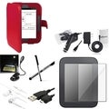 Case/ Screen Protector/ Chargers/ LED for Barnes & Noble Nook 2