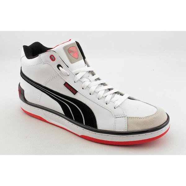 Puma Men's 'Evo Ducati Mid' Leather Casual Shoes