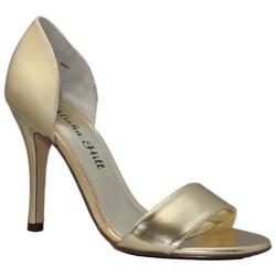 Women's Alisha Hill Carrie Gold Polyurethane