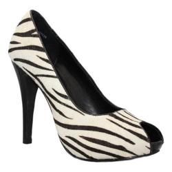 Women's Alisha Hill Victoria Zebra Synthetic