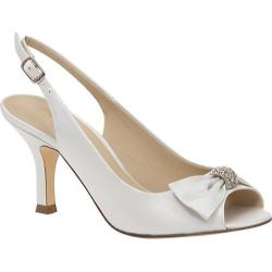 Women's Brianna Leigh Angie White Silk Satin