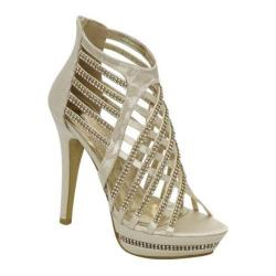 Women's Brianna Leigh Chelsea Ivory Silk Satin