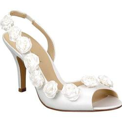 Women's Brianna Leigh Sophia White Satin