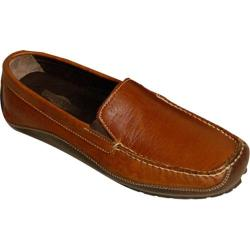 Men's Buffalo Jackson Trading Co. Jackson Burnished Indian Tan Bison/Mahogany Bison