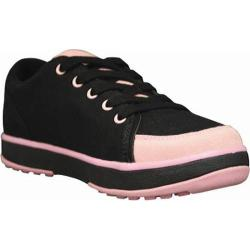 Women's Dawgs Canvas Golf Crossover Shoe Black/Soft Pink