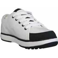 Women's Dawgs Canvas Golf Crossover Shoe White/Navy
