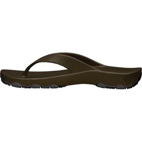 Men's Dawgs Destination Flip Flop Dark Brown/Black