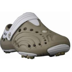 Girls' Dawgs Golf Spirit Tan/White