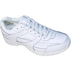 Women's Genuine Grip Footwear Slip-Resistant Jogger White Leather