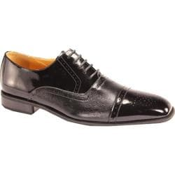 Men's Giorgio Venturi 5925 Black Polished Leather
