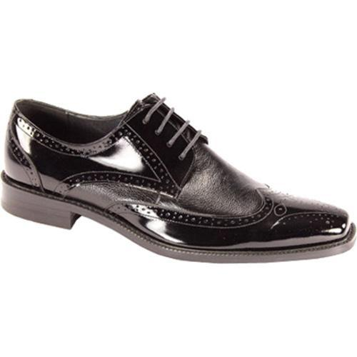 Men's Giorgio Venturi 6280 Black Smooth Leather