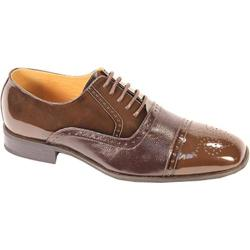 Men's Giorgio Venturi 5925 Chocolate Brown Polished Leather