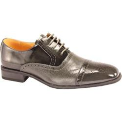 Men's Giorgio Venturi 5925 Gray Polished Leather