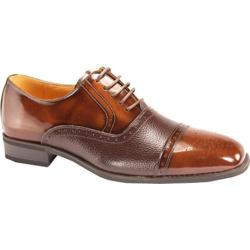 Men's Giorgio Venturi 5925 Light Brown Polished Leather