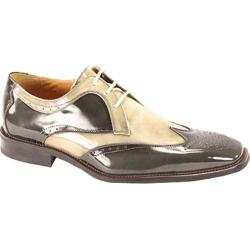 Men's Giorgio Venturi 6297 Gray/Light Gray Polished Leather