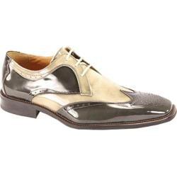 Men's Giorgio Venturi 6297 Gray/Light Gray Polished Leather