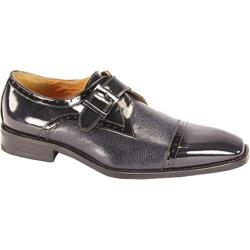 Men's Giorgio Venturi 6298 Navy Polished Leather