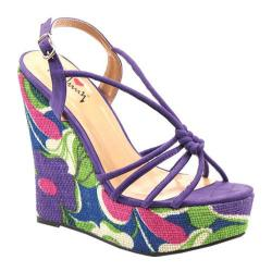 Women's Luichiny My Fair Lady Purple Imi Suede