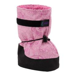 Girls' Molehill Shelled Snow Moc Booties Paisley Pink