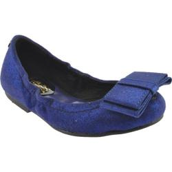 Girls' MUPS Mini Ballerina Shiny Blue Shiny