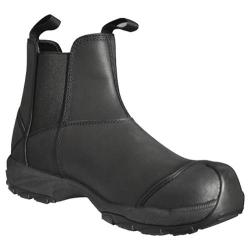 Men's Dawgs Prolite 6in Pull On Composite Toe Safety Boot Black Waxy Buffalo Leather