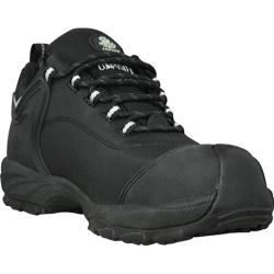 Men's Dawgs Ultralite 3in Comfort Pro Composite Toe Safety Shoe Black Full Grain Leather