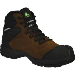 Men's Dawgs Ultralite 6in Comfort Pro Composite Toe Safety Boot Rocky Brown Crazy Horse Leather