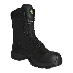 Men's Dawgs Ultralite 8in Comfort Pro Waterproof Composite Toe Black Full Grain Nubuck