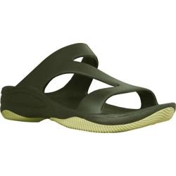Women's Dawgs Z Sandal/Rubber Sole Olive Green/Sage