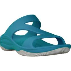 Women's Dawgs Z Sandal/Rubber Sole Peacock/White