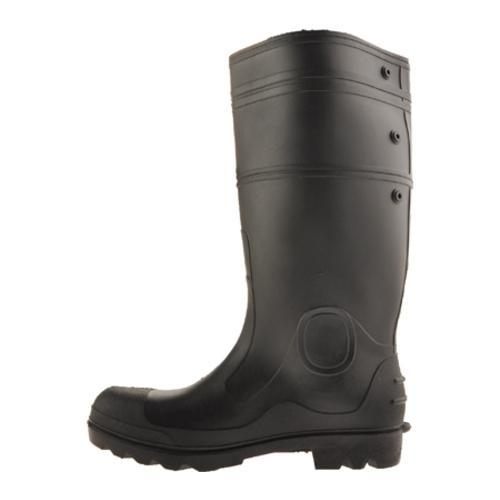 Men's Diamond Rubber Products Plain Toe Knee Boot 152 Black