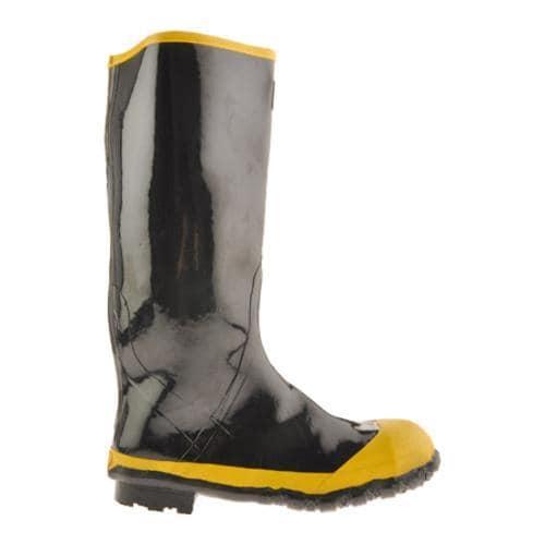 Men's Diamond Rubber Products Steel Toe Knee Boot 21 Black