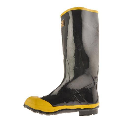 Men's Diamond Rubber Products Steel Toe Knee Boot 21 Black