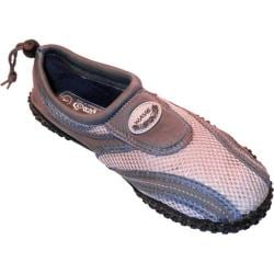 Men's Easy USA Water Shoes/Aqua Socks (2 Pairs) Grey/Grey