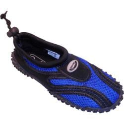 Children's Easy USA Water Shoes/Aqua Socks (2 Pairs) Royal Blue
