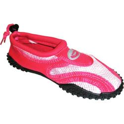 Women's Easy USA Water Shoes/Aqua Socks (2 Pairs) Pink/Fuchsia