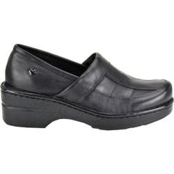 Women's Nurse Mates Kayla Black Full Grain Leather