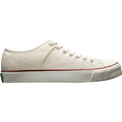PF Flyers Bob Cousy Lo Washed Natural Canvas