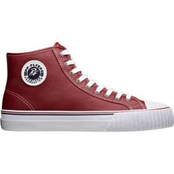 PF Flyers Center Hi Red Full Grain Leather
