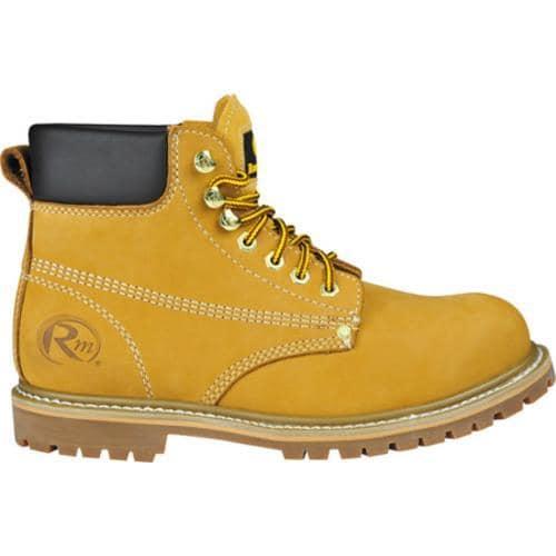 Men's Roadmate Boot Co. 608 6in Nubuck Boot Tan Nubuck