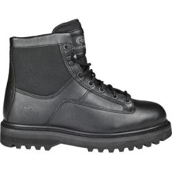 Men's Roadmate Boot Co. 637 6in Cordura Tactical Boot Black Full Grain Leather/Cordura