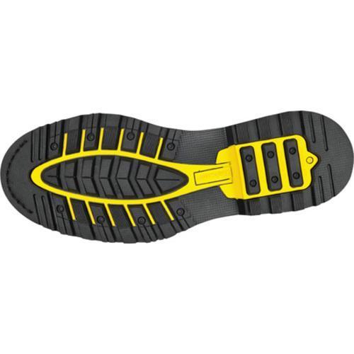 Men's Roadmate Boot Co. 647 6in Padded Collar Work Boot Steel Toe Black Oil Full Grain Leather