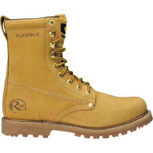 Men's Roadmate Boot Co. 810 8in Work Boot Honey Nubuck