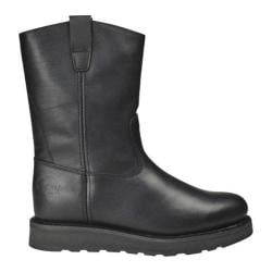Men's Roadmate Boot Co. 833 10in Wellington Black Oil Full Grain Leather