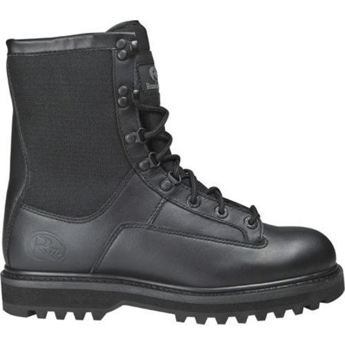 Men's Roadmate Boot Co. 837 8in Cordura Tactical Boot Black Full Grain Leather/Cordura