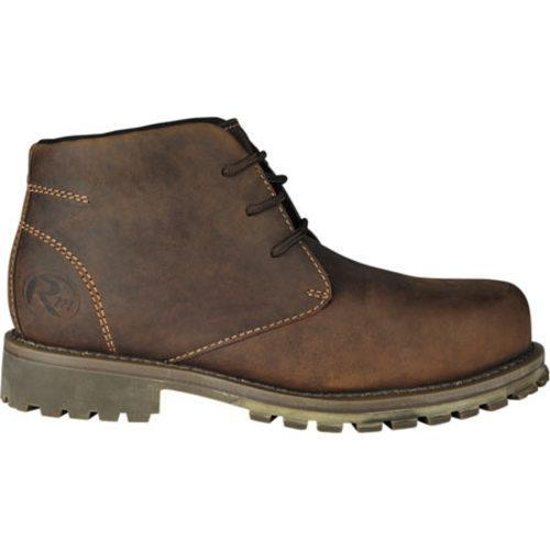 Men's Roadmate Boot Co. Chukka 5in Work Boot Olive Brown Greenland Leather