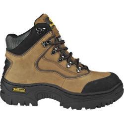 Men's Roadmate Boot Co. Wyoming 6in Hiker Boot Steel Toe Mocha Nubuck